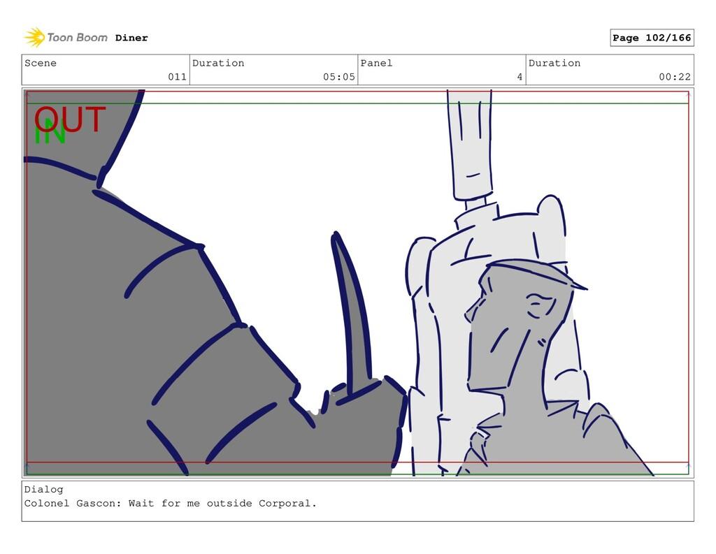 Scene 011 Duration 05:05 Panel 4 Duration 00:22...