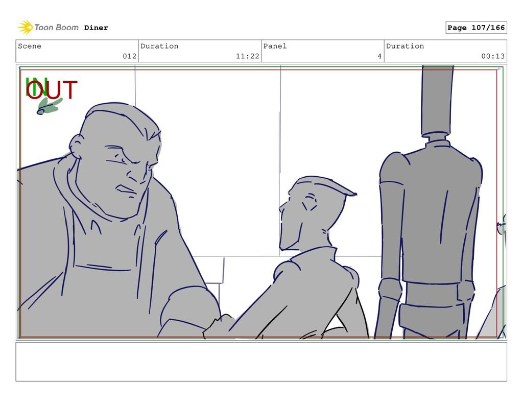 Scene 012 Duration 11:22 Panel 4 Duration 00:13...