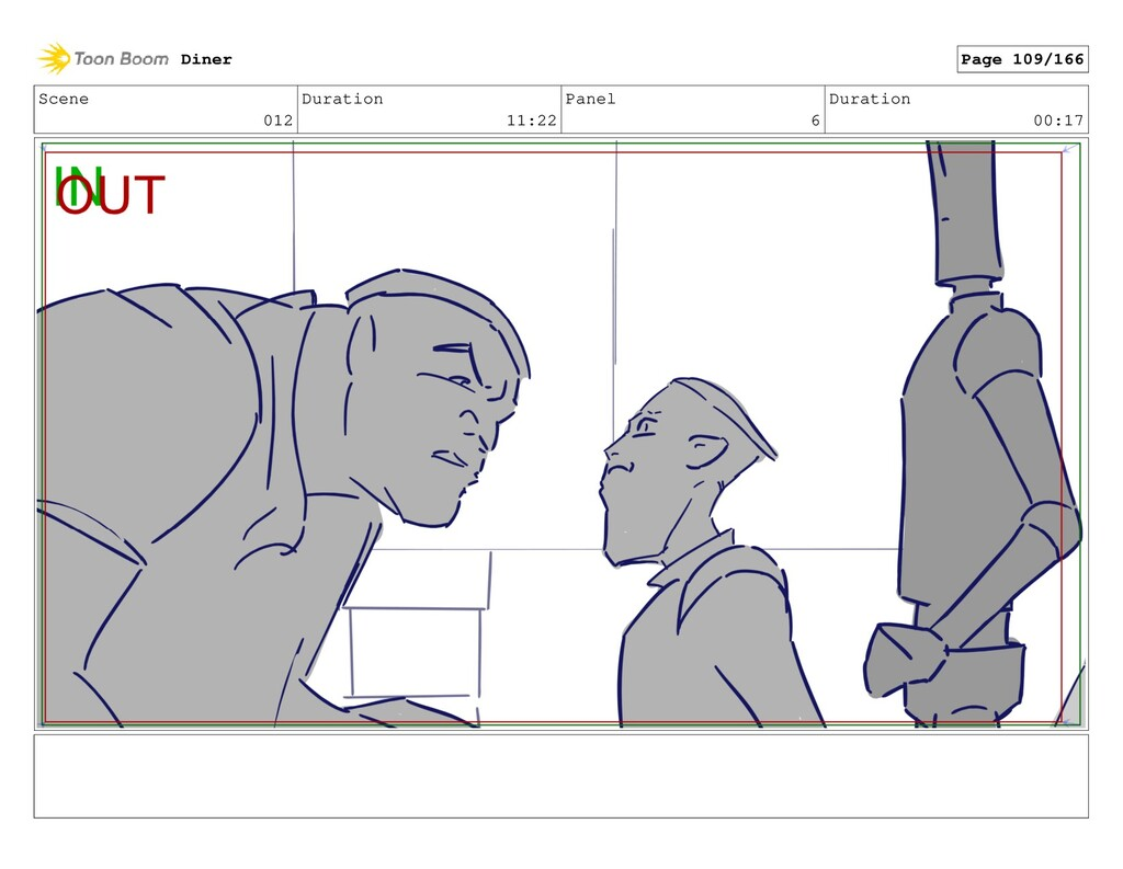 Scene 012 Duration 11:22 Panel 6 Duration 00:17...