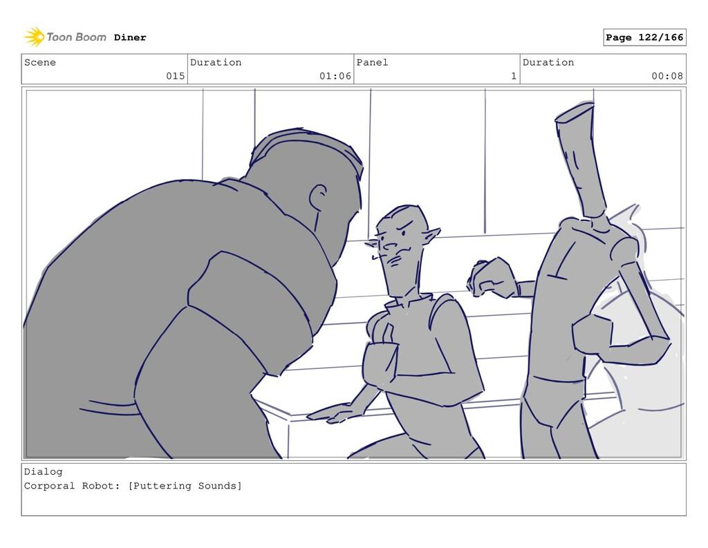 Scene 015 Duration 01:06 Panel 1 Duration 00:08...