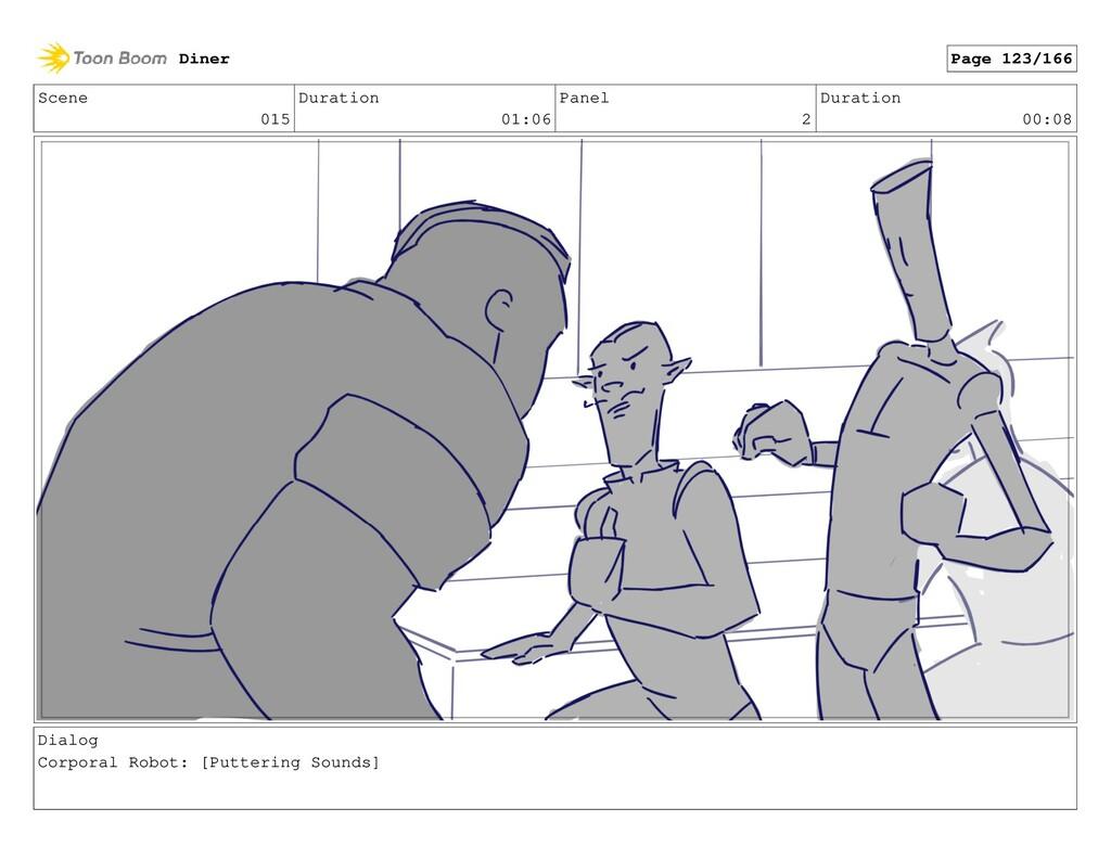 Scene 015 Duration 01:06 Panel 2 Duration 00:08...