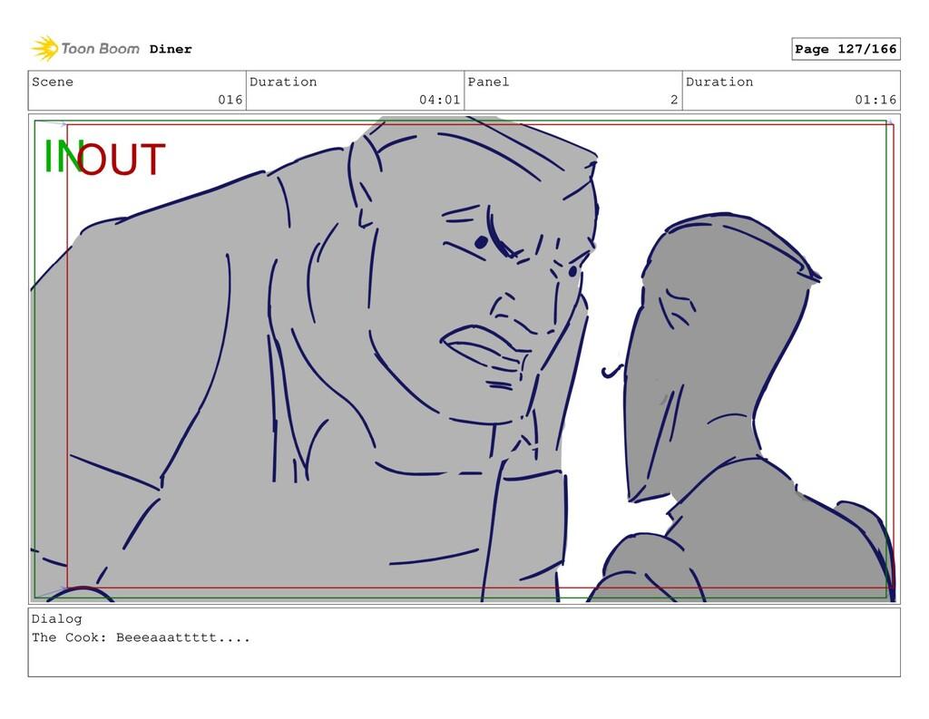 Scene 016 Duration 04:01 Panel 2 Duration 01:16...