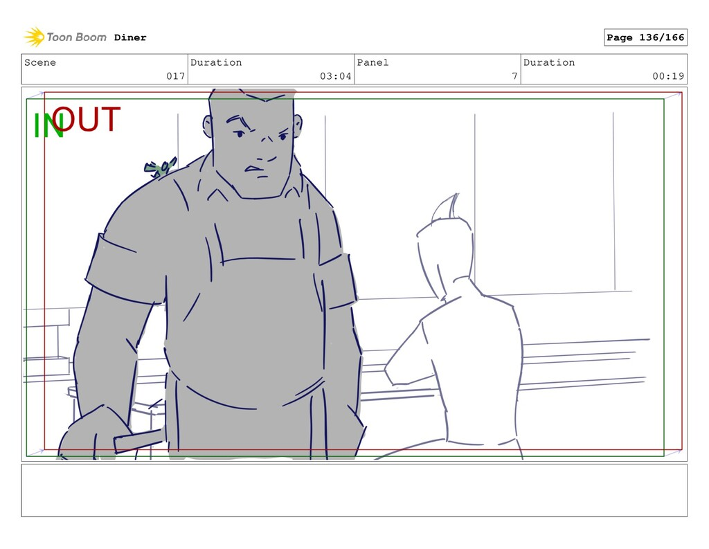 Scene 017 Duration 03:04 Panel 7 Duration 00:19...