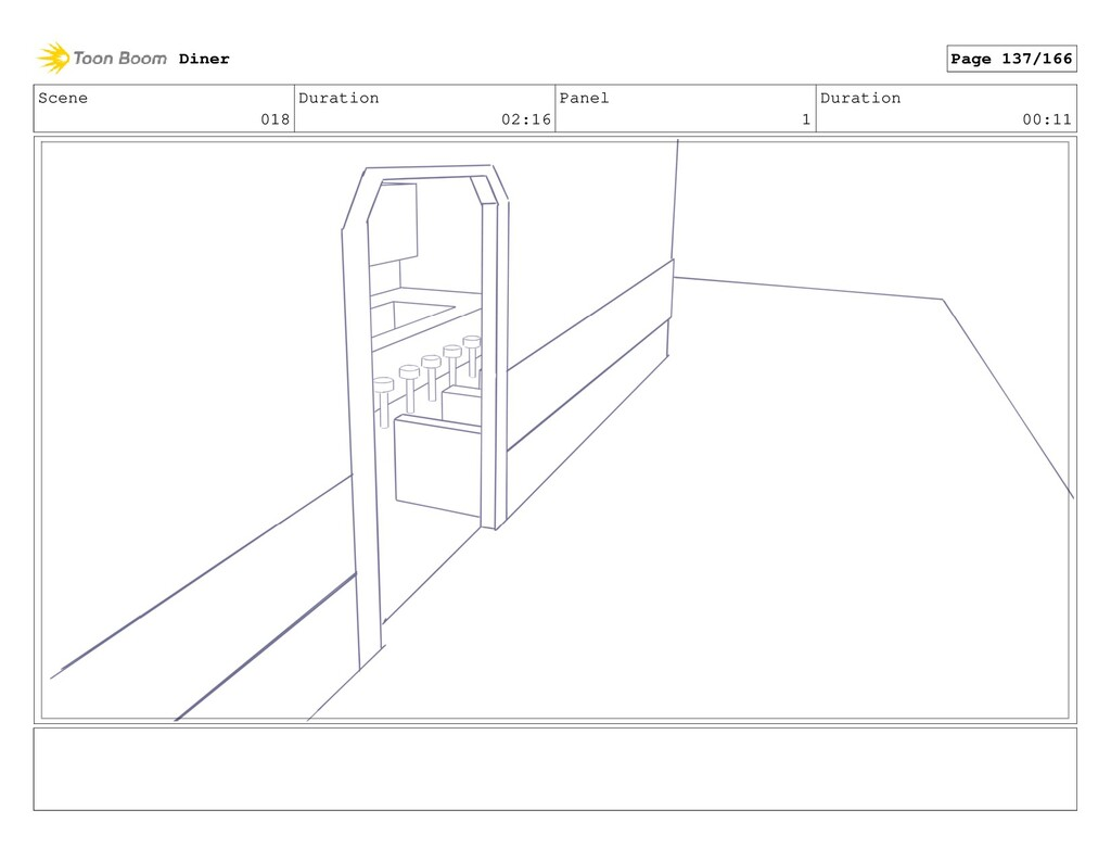 Scene 018 Duration 02:16 Panel 1 Duration 00:11...