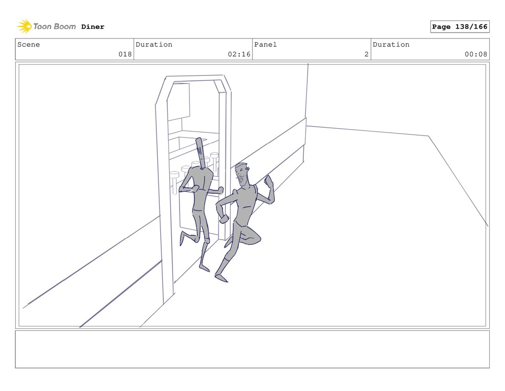 Scene 018 Duration 02:16 Panel 2 Duration 00:08...