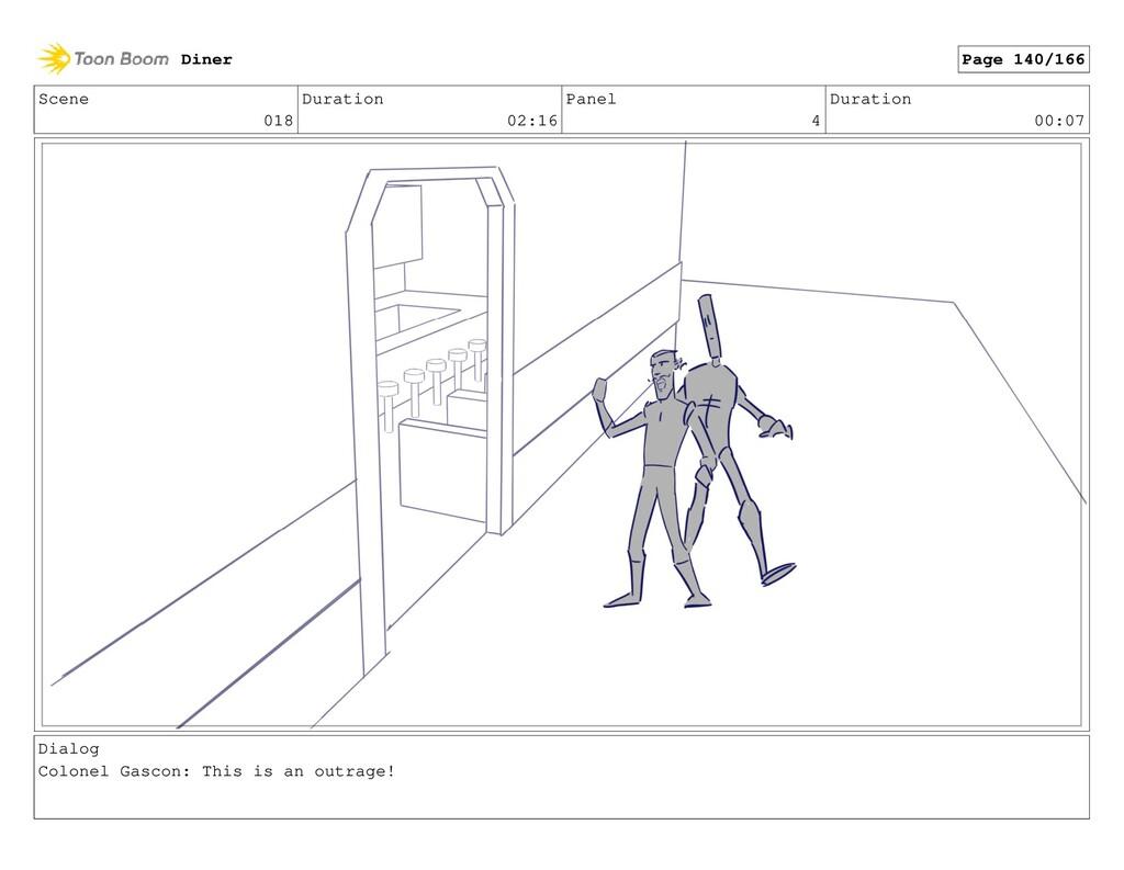 Scene 018 Duration 02:16 Panel 4 Duration 00:07...