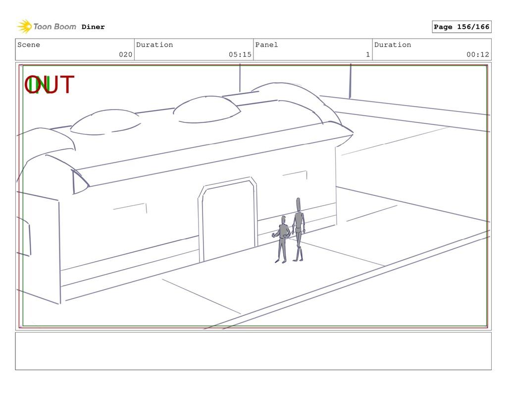 Scene 020 Duration 05:15 Panel 1 Duration 00:12...