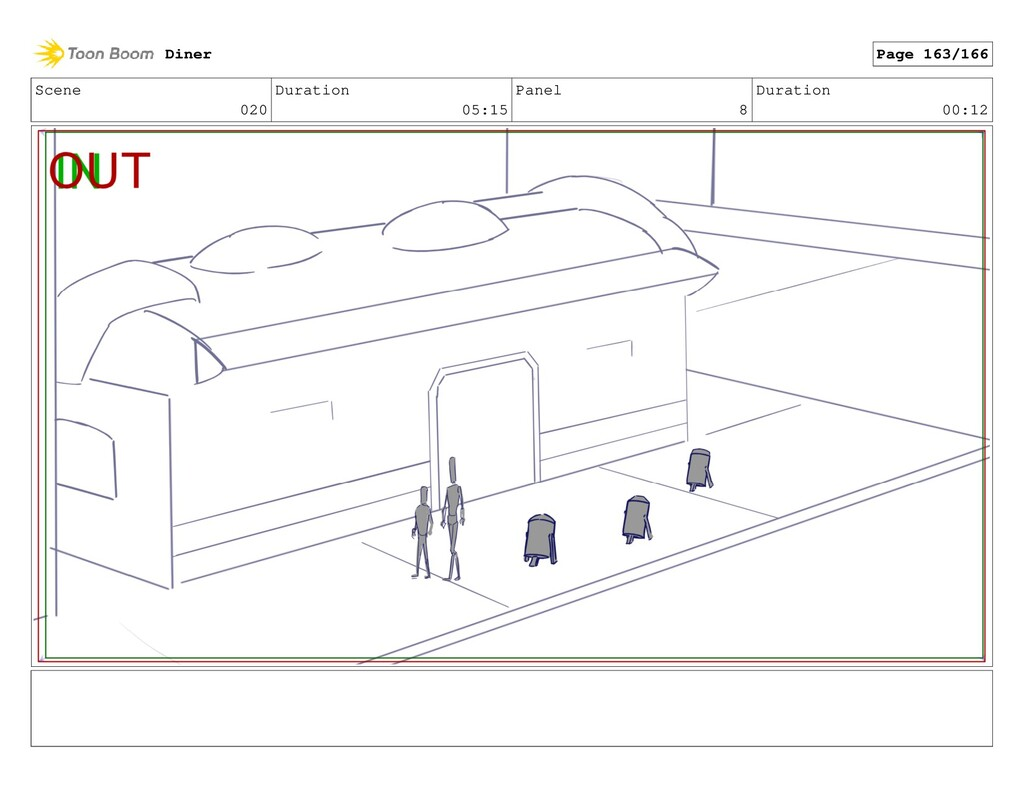 Scene 020 Duration 05:15 Panel 8 Duration 00:12...