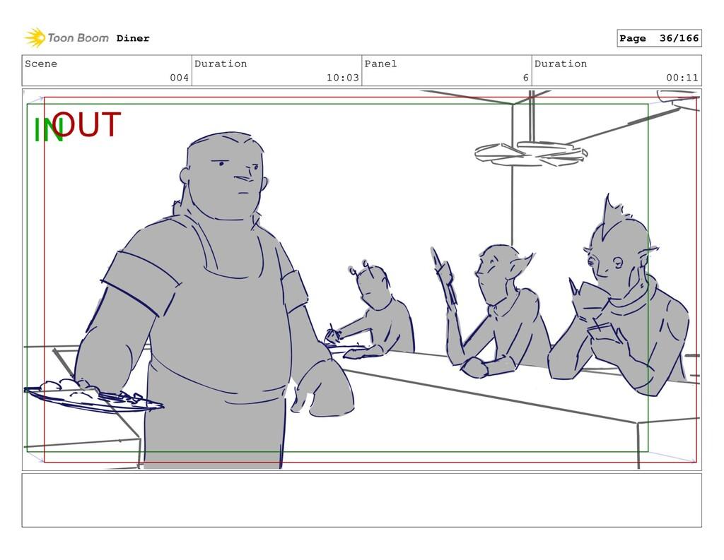 Scene 004 Duration 10:03 Panel 6 Duration 00:11...