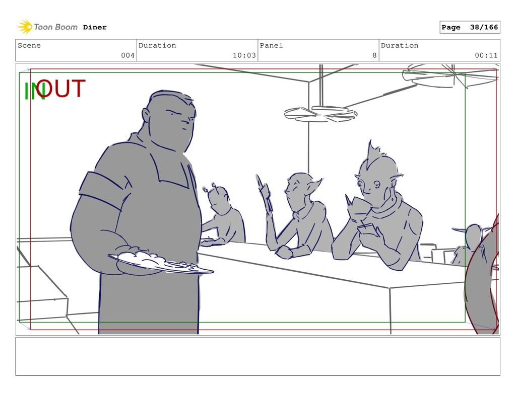 Scene 004 Duration 10:03 Panel 8 Duration 00:11...