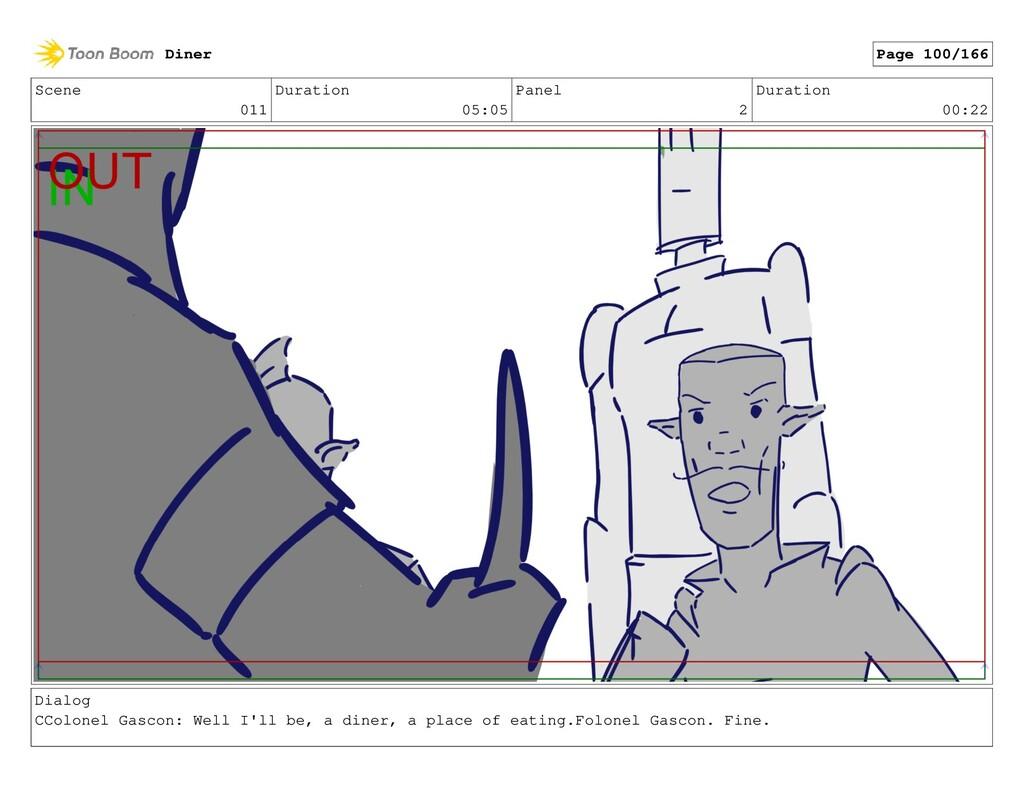 Scene 011 Duration 05:05 Panel 2 Duration 00:22...