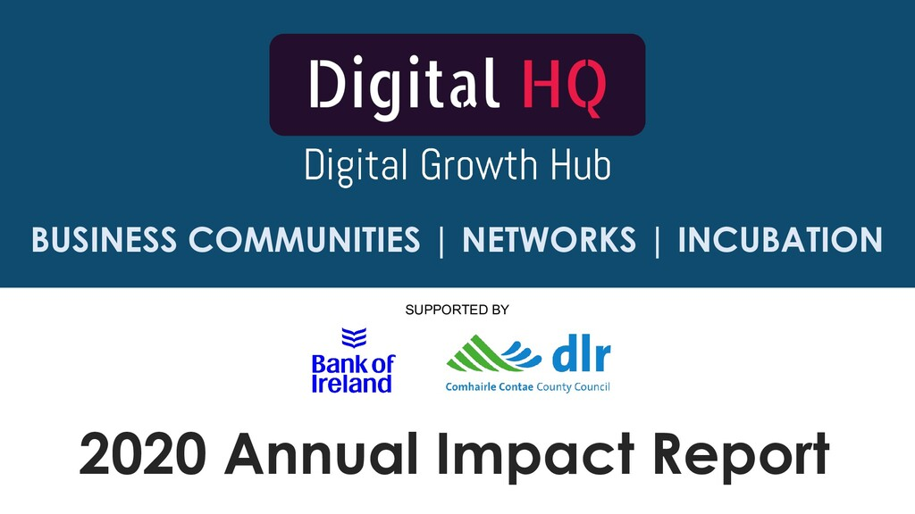 2020 Annual Impact Report SUPPORTED BY BUSINESS...