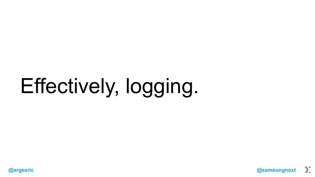 @argesric @samsungnext Effectively, logging.