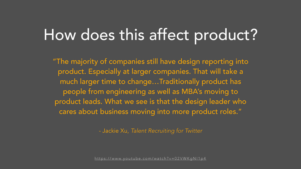 """""""The majority of companies still have design re..."""