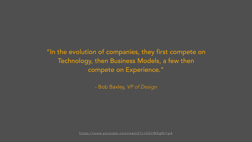 """""""In the evolution of companies, they first comp..."""