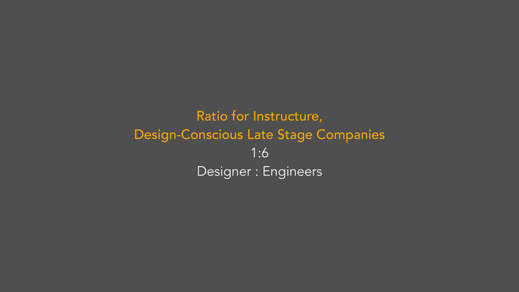 Ratio for Instructure, Design-Conscious Late St...