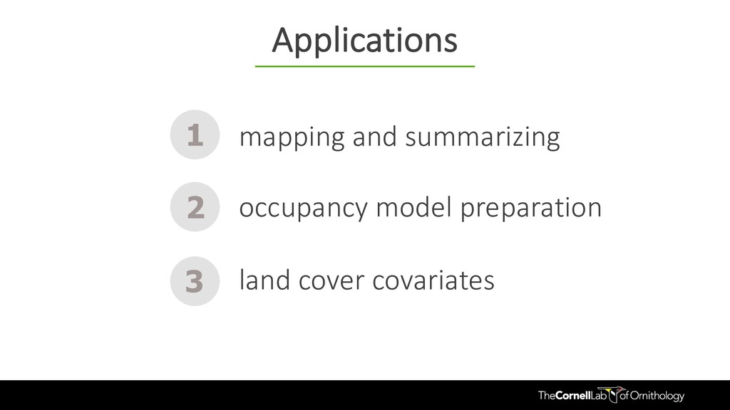 mapping and summarizing 1 2 3 occupancy model p...