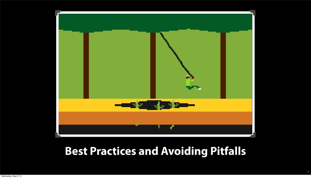 Best Practices and Avoiding Pitfalls 30 Wednesd...
