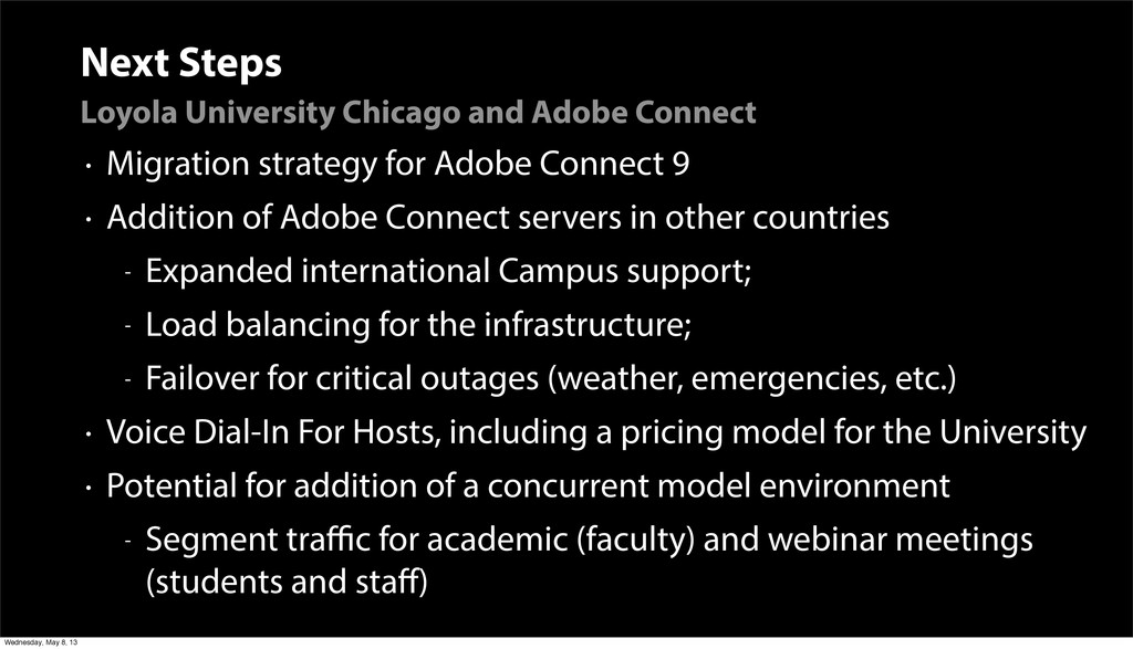 Next Steps Loyola University Chicago and Adobe ...