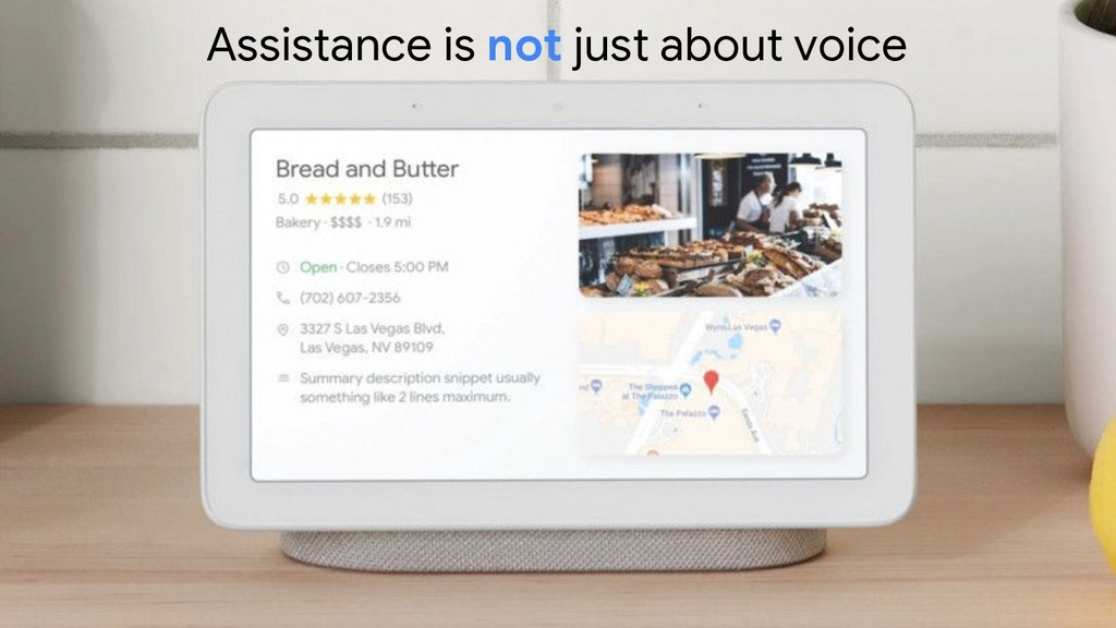 22 Assistance is not just about voice