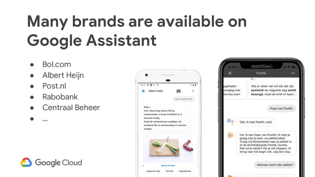 32 Many brands are available on Google Assistan...