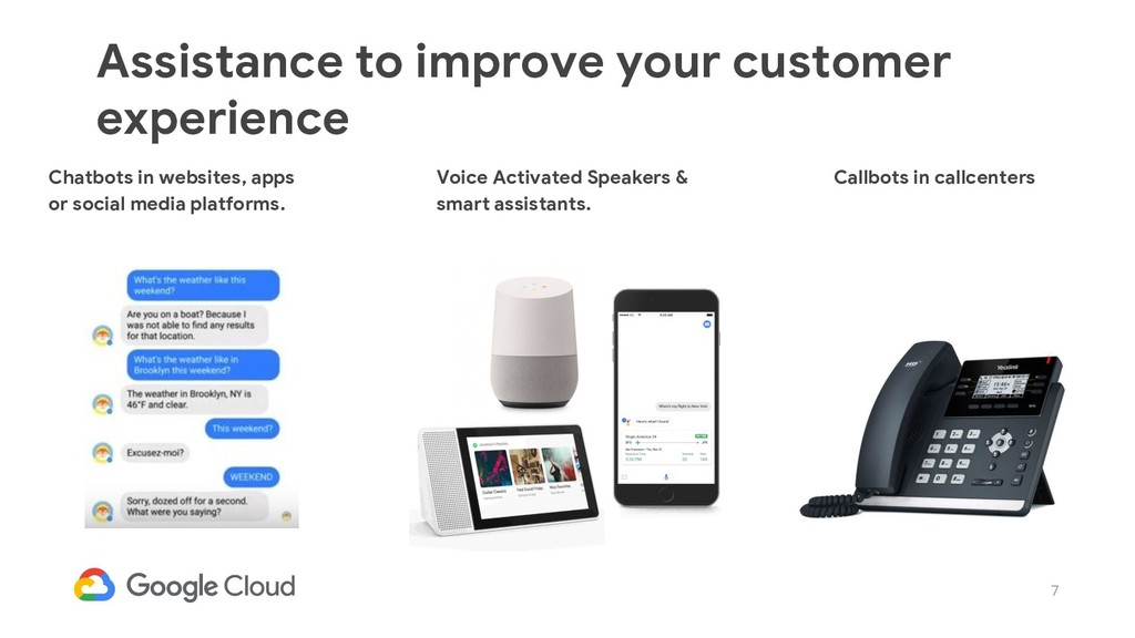 7 Assistance to improve your customer experienc...