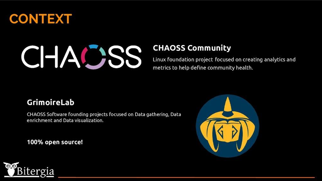 CONTEXT CHAOSS Community Linux foundation proje...