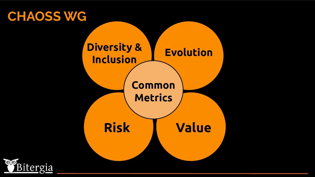 CHAOSS WG Diversity & Inclusion Evolution Risk ...