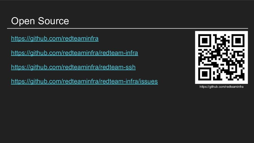 Open Source https://github.com/redteaminfra htt...