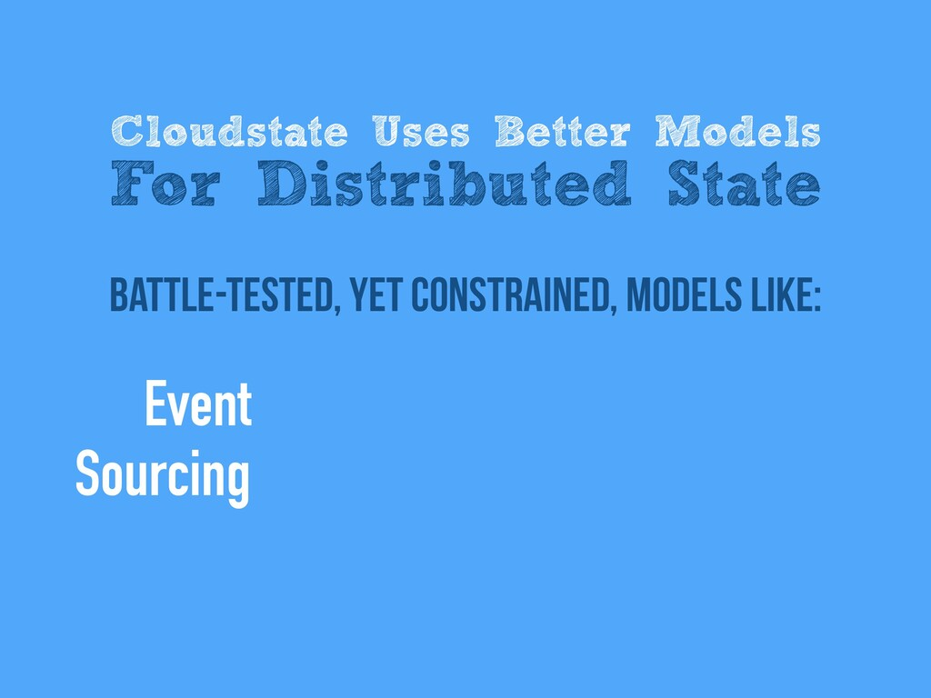 battle-tested, Yet Constrained, models like: Cl...
