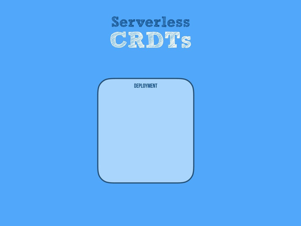 Deployment Serverless CRDTs