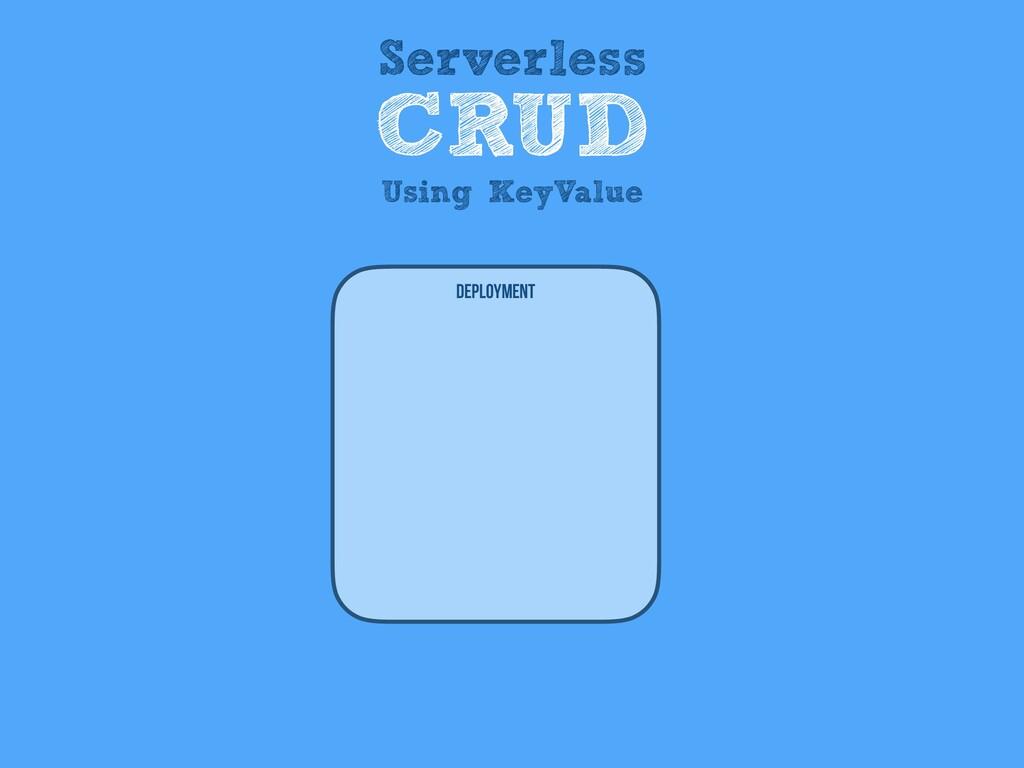 Deployment Serverless CRUD Using KeyValue