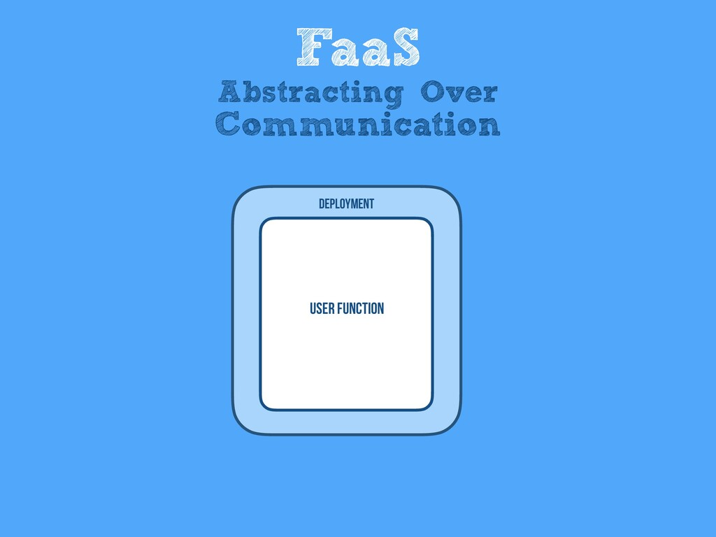 User Function Deployment FaaS Abstracting Over ...