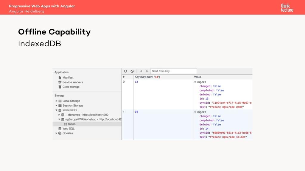 IndexedDB Progressive Web Apps with Angular Ang...