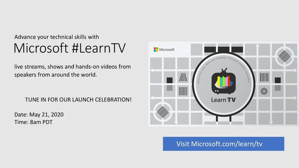 Advance your technical skills with Microsoft #L...