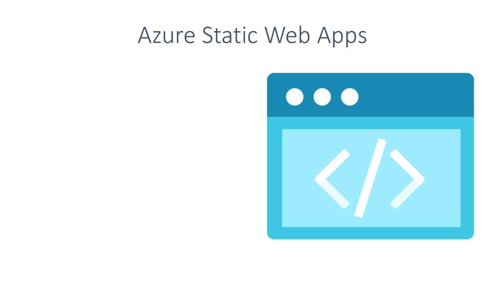 Azure Static Web Apps