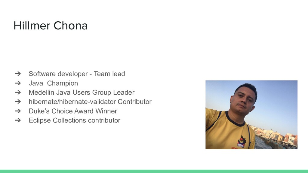 ➔ Software developer - Team lead ➔ Java Champio...