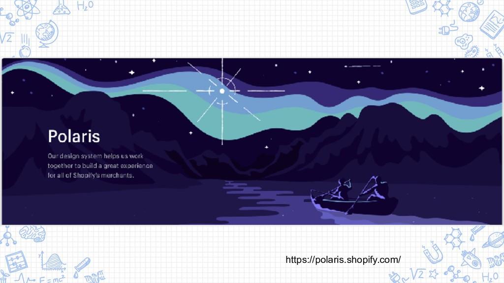 https://polaris.shopify.com/