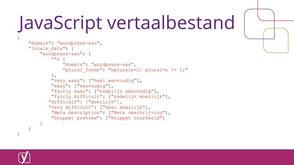 "JavaScript vertaalbestand { ""domain"": ""wordpres..."