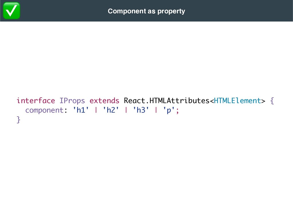 interface IProps extends React.HTMLAttributes<H...