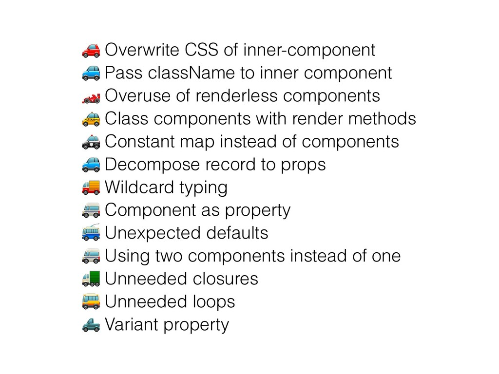 🚗 Overwrite CSS of inner-component   🚙 Pass cla...