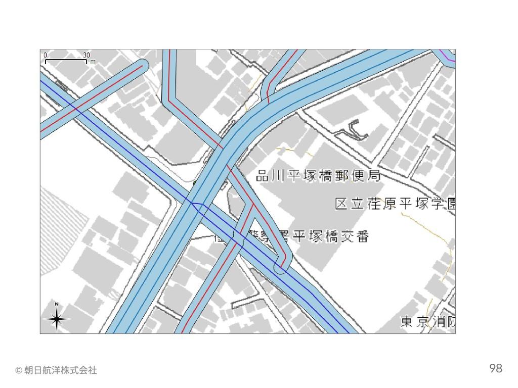 © 朝日航洋株式会社 98