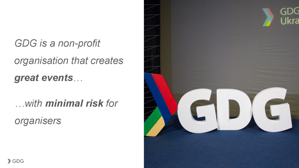 GDG is a non-profit organisation that creates g...