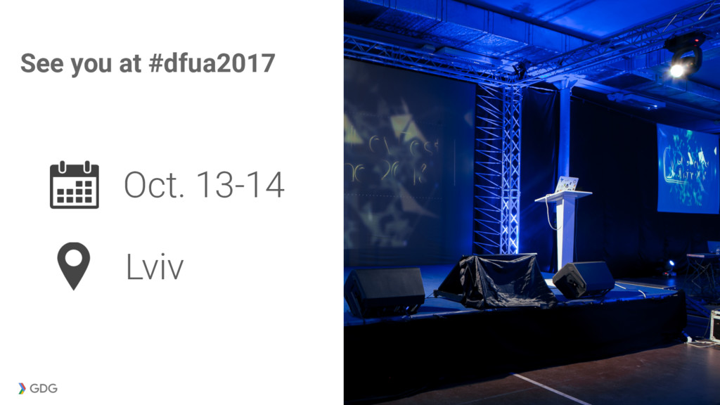 Lviv See you at #dfua2017 Oct. 13-14