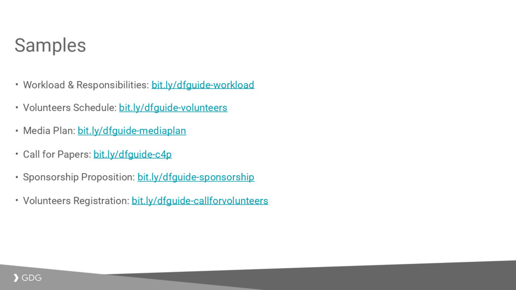 Samples • Workload & Responsibilities: bit.ly/d...