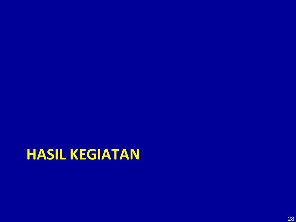 HASIL KEGIATAN 28