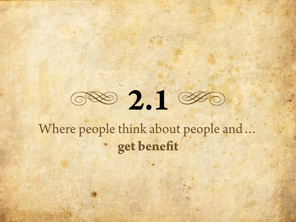 g 2.1 h Where people think about people and… ge...