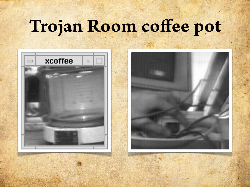 Trojan Room co ee pot