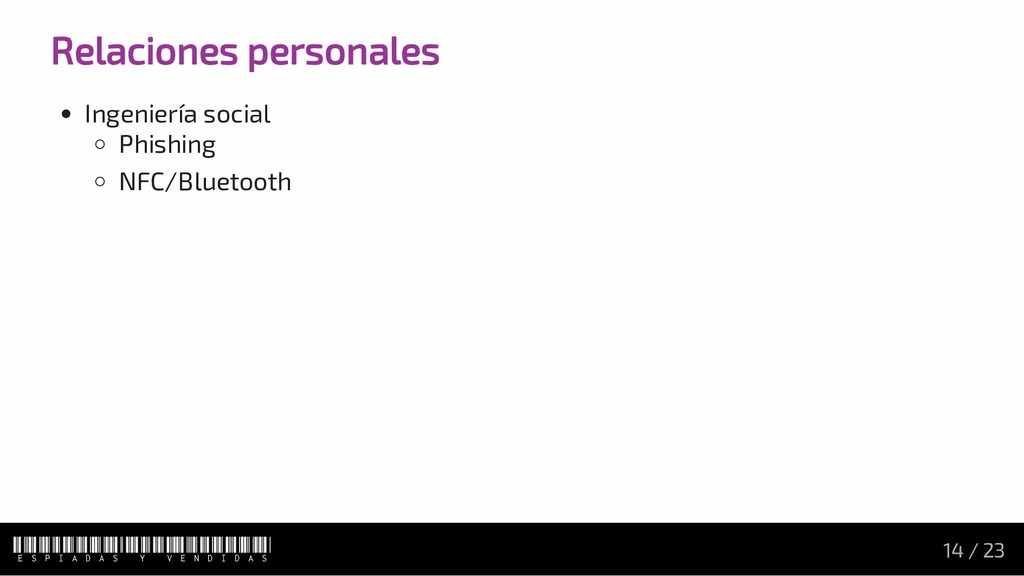 Relaciones personales Ingeniería social Phishin...