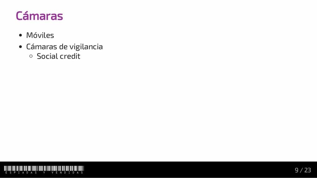 Cámaras Móviles Cámaras de vigilancia Social cr...